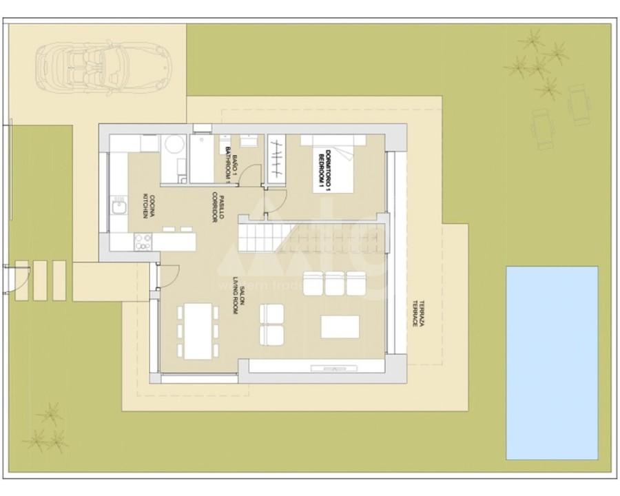 Bungalow de 2 chambres à Orihuela Costa - OP8141 - 4