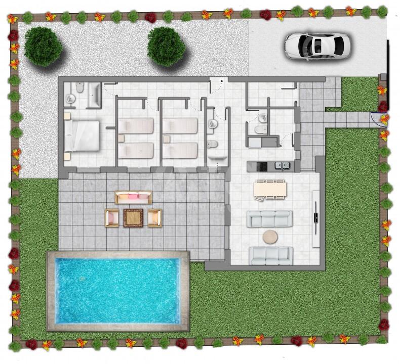 Penthouse de 2 chambres à Guardamar del Segura - AGI5962 - 11