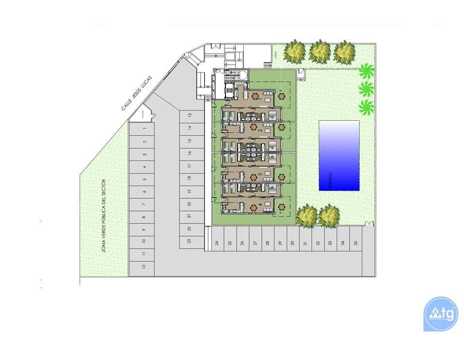 Penthouse de 2 chambres à Guardamar del Segura - AGI5962 - 27