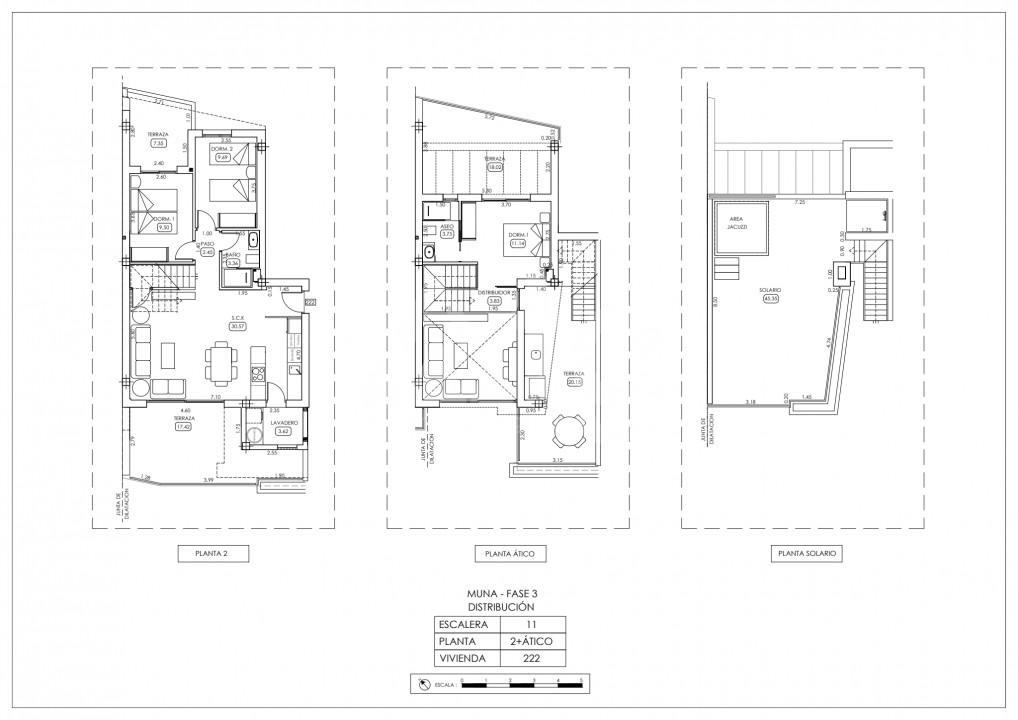 Penthouse de 3 chambres à Los Dolses - TRI114810 - 38