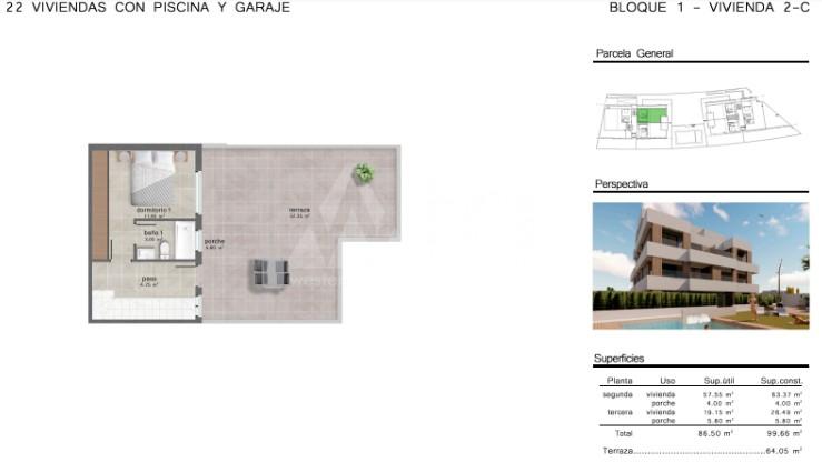 Penthouse de 3 chambres à San Javier - GU114735 - 10