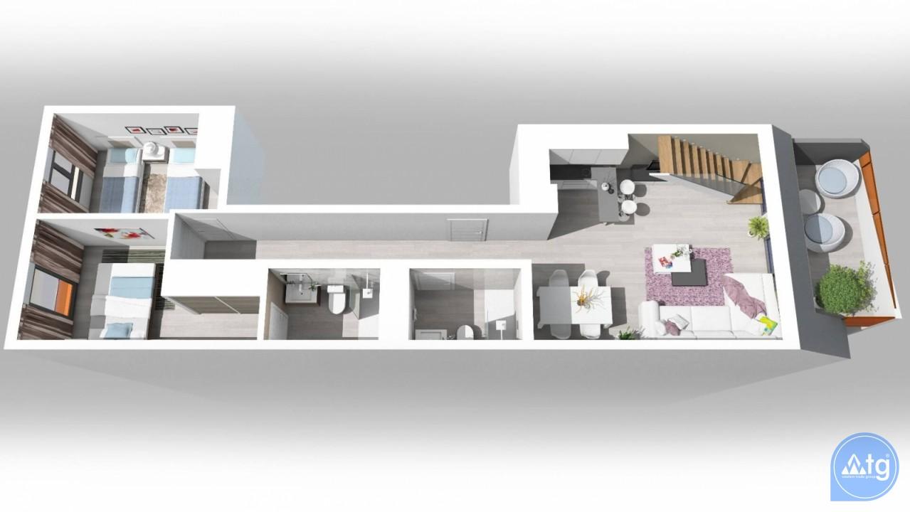 Penthouse de 1 chambre à Torrevieja - AG5940 - 11