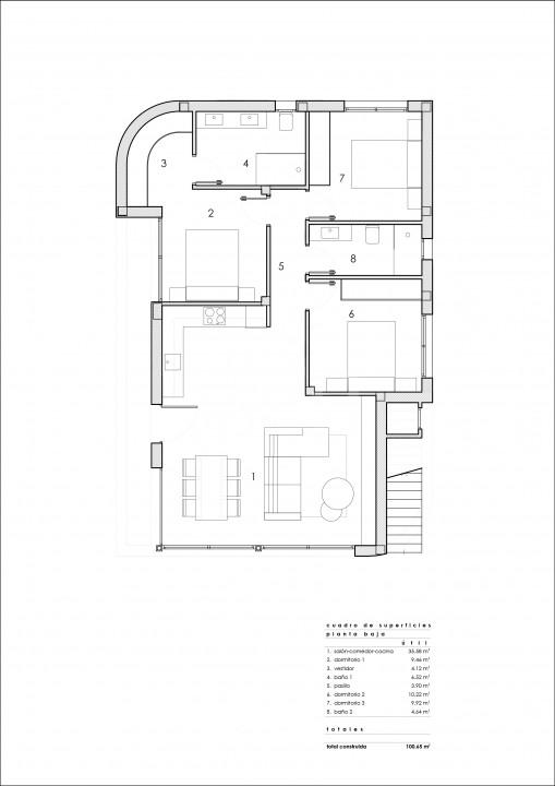 Penthouse de 2 chambres à Torrevieja - AG5936 - 4