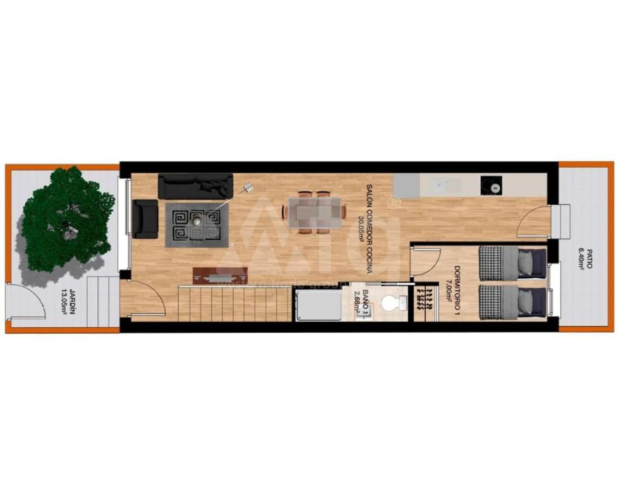 Penthouse de 3 chambres à Villamartin - NS8280 - 4