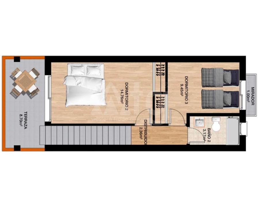 Penthouse de 3 chambres à Villamartin - NS8280 - 5