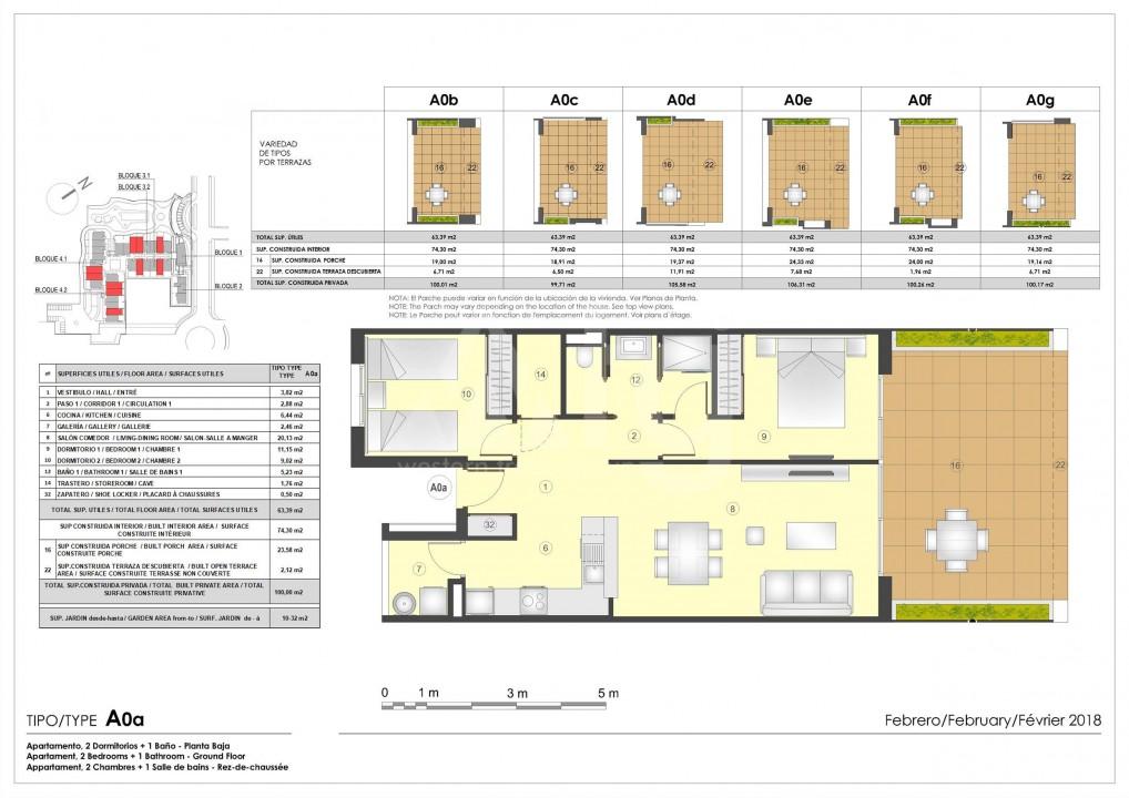 Appartement de 2 chambres à Murcia - OI7490 - 11