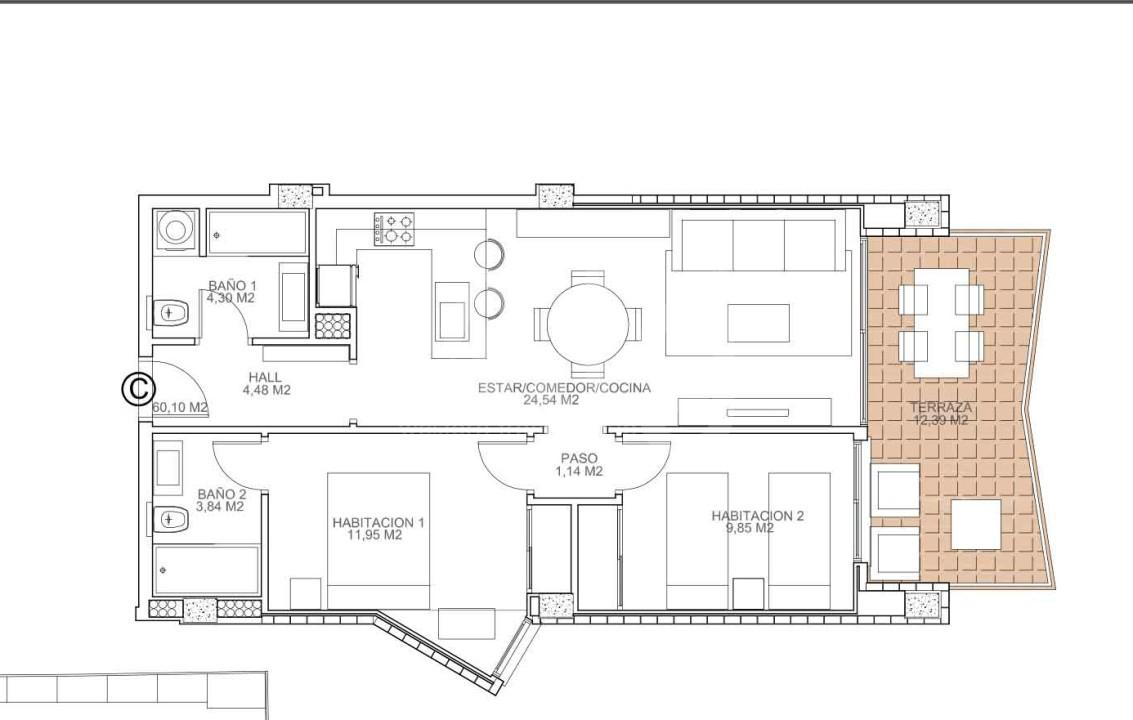 Appartement de 2 chambres à Torrevieja - VA114762 - 6
