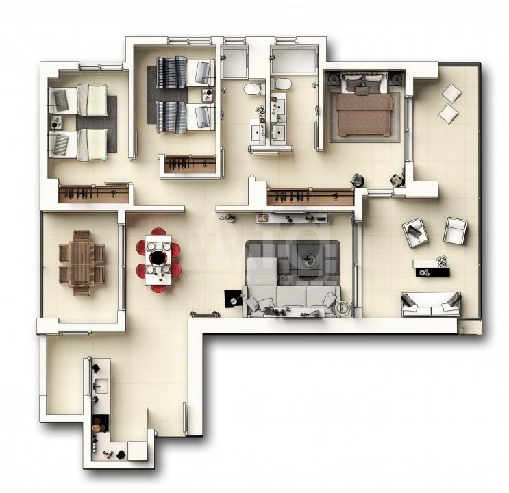 Appartement de 3 chambres à Punta Prima - GD113897 - 46