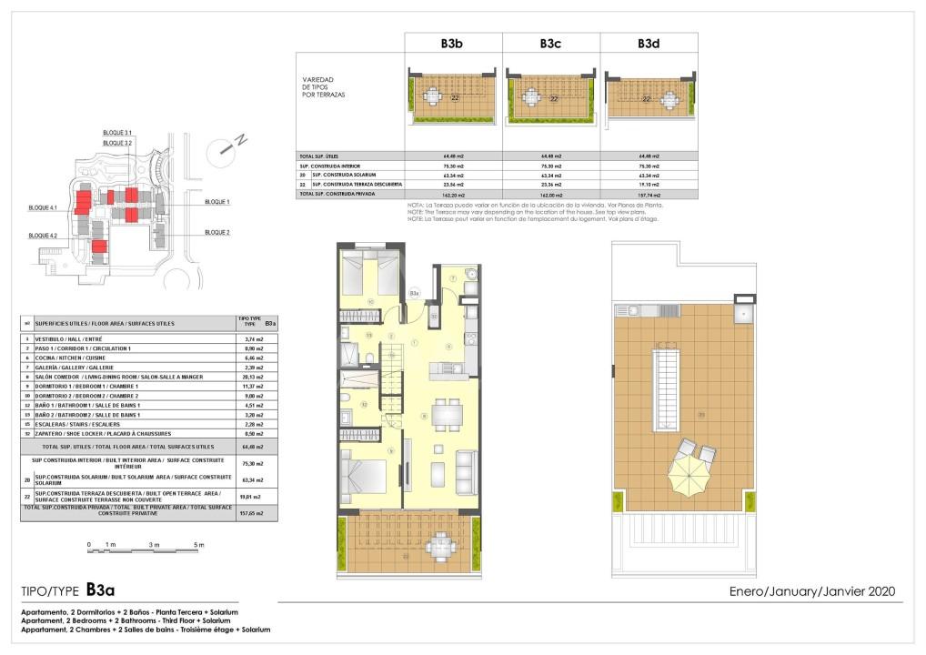 Appartement de 3 chambres à Murcia - OI7573 - 12