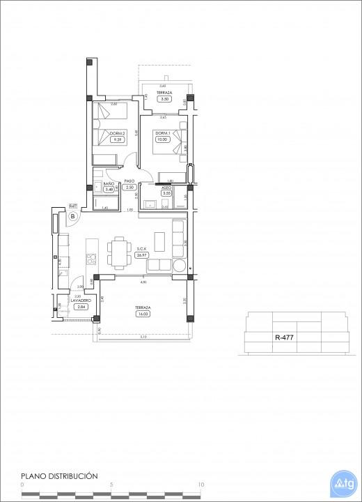 Appartement de 2 chambres à Villamartin - TRI114874 - 33