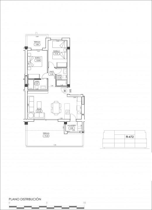 Appartement de 2 chambres à Villamartin - TRI114874 - 37