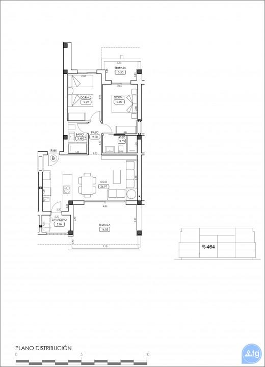 Appartement de 2 chambres à Villamartin - TRI114874 - 39