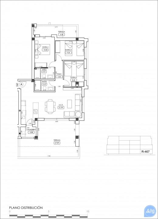 Appartement de 2 chambres à Villamartin - TRI114874 - 44
