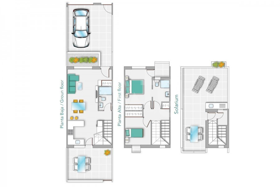 Appartement de 2 chambres à Torrevieja - TR7294 - 17