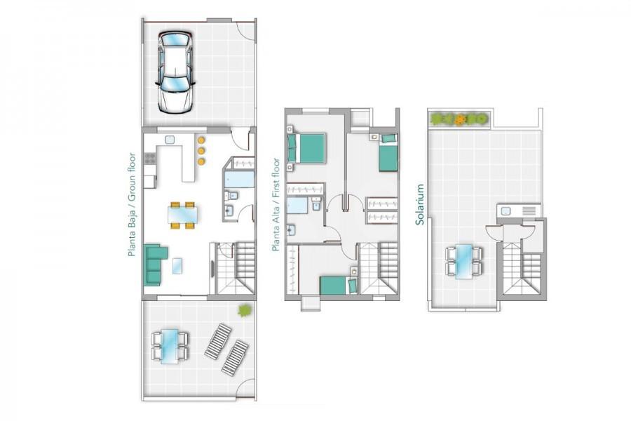 Appartement de 2 chambres à Torrevieja - TR7294 - 18
