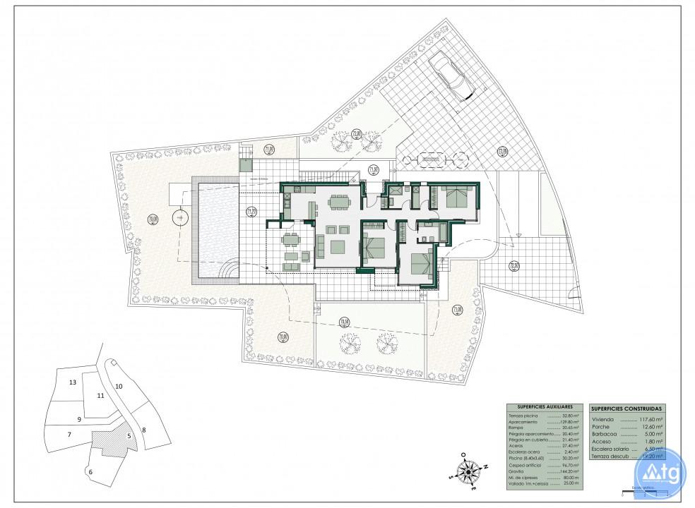 Appartement de 2 chambres à Mar de Cristal - CVA115791 - 7