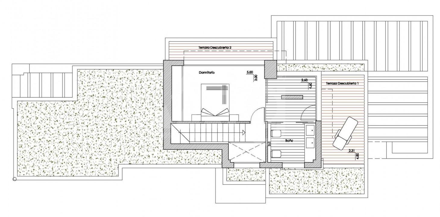 Villa de 4 chambres à Los Montesinos - GEO8328 - 11