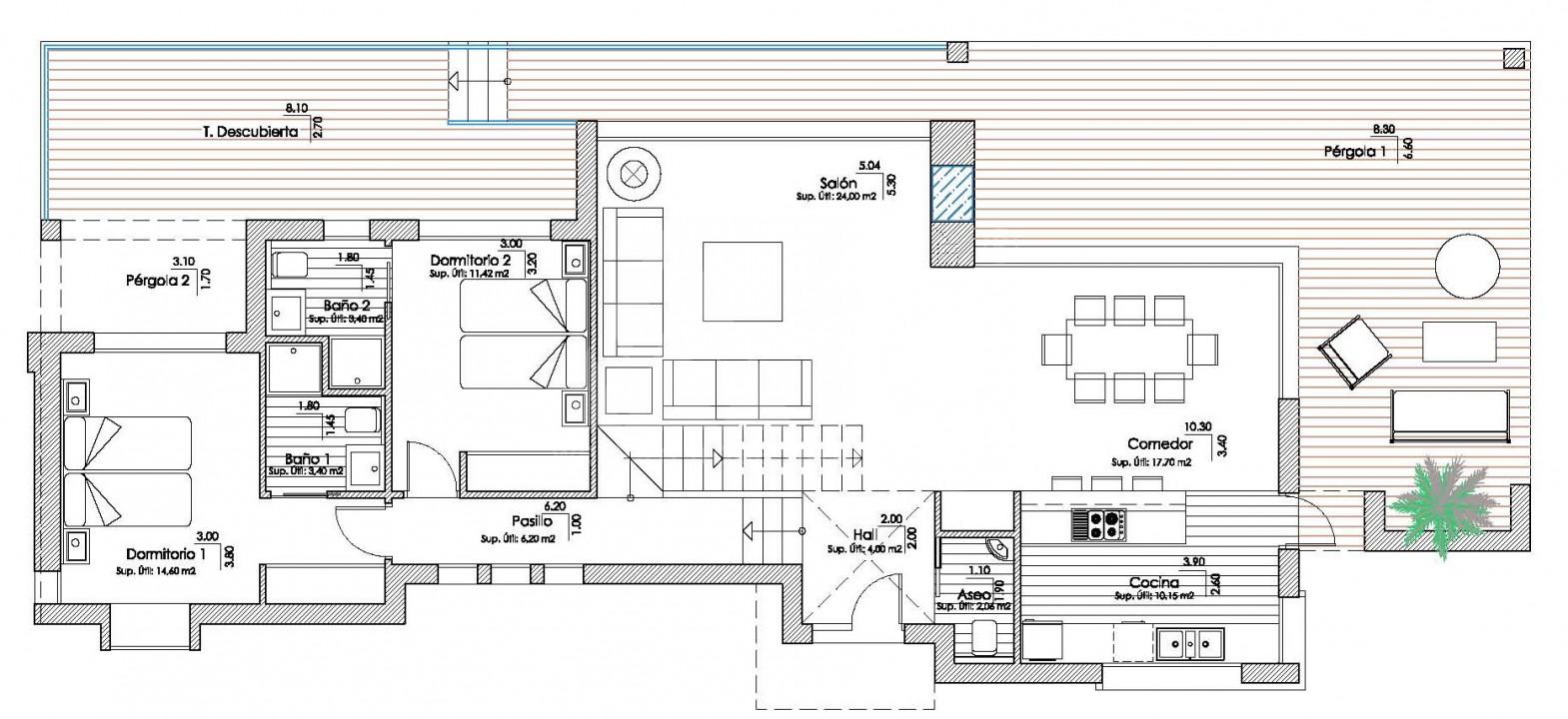 Villa de 4 chambres à Los Montesinos - GEO8328 - 12