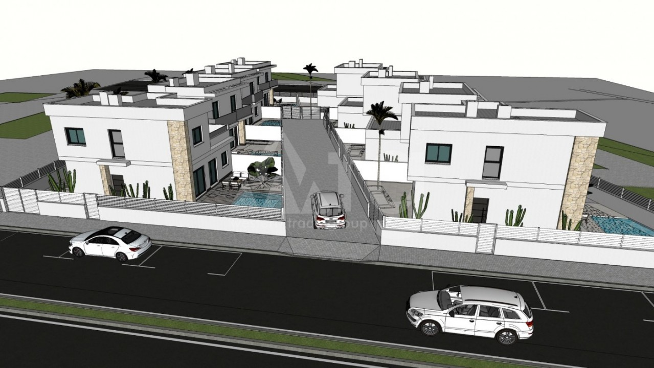 Townhouse de 3 chambres à Pilar de la Horadada - CV113906 - 2