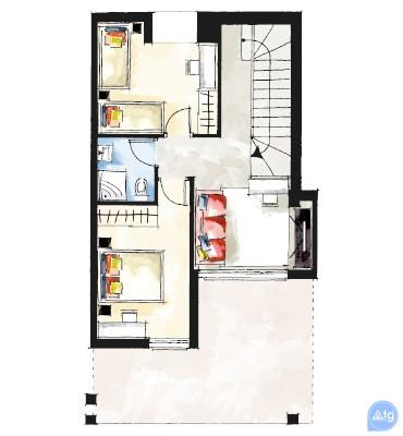 Апартаменты в Вилламартин, 3 спальни - OI114570 - 46
