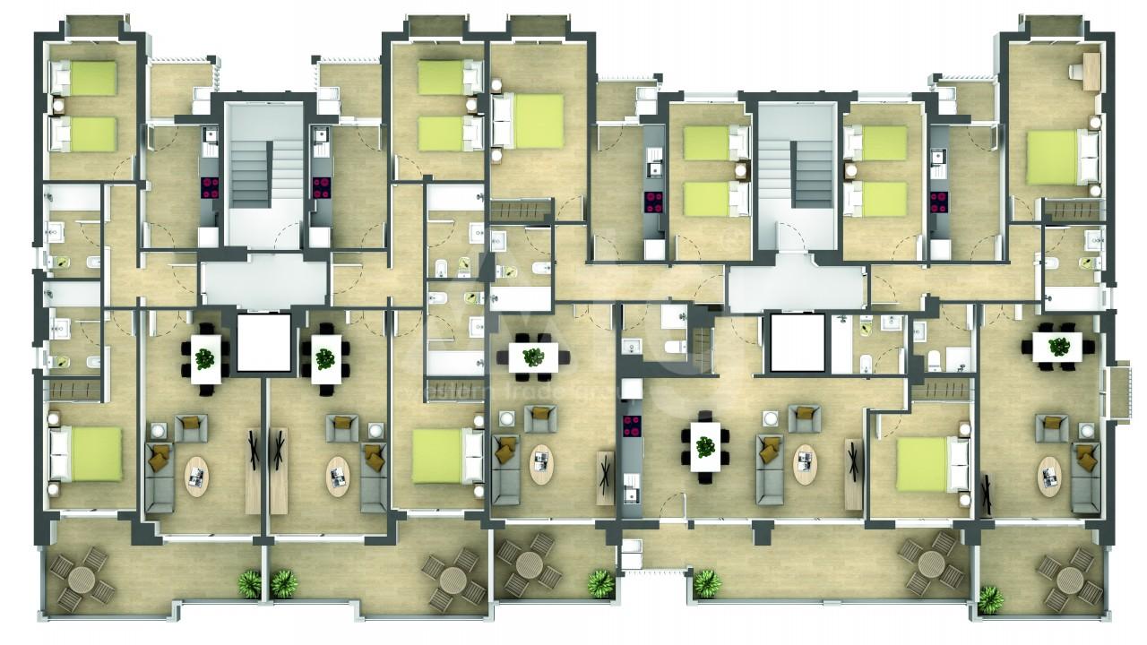 Penthouse de 2 chambres à La Manga - GRI115252 - 27