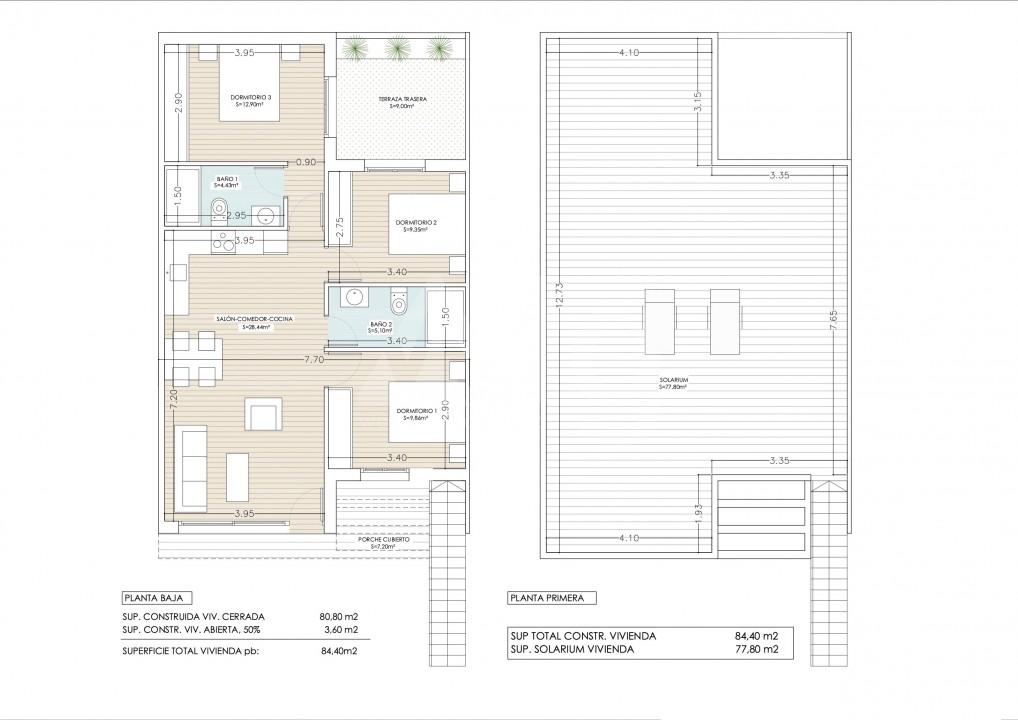 3 bedroom Penthouse in Guardamar del Segura - ER7065 - 7