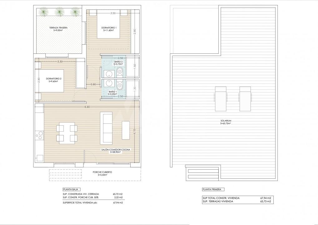 3 bedroom Penthouse in Guardamar del Segura - ER7065 - 8