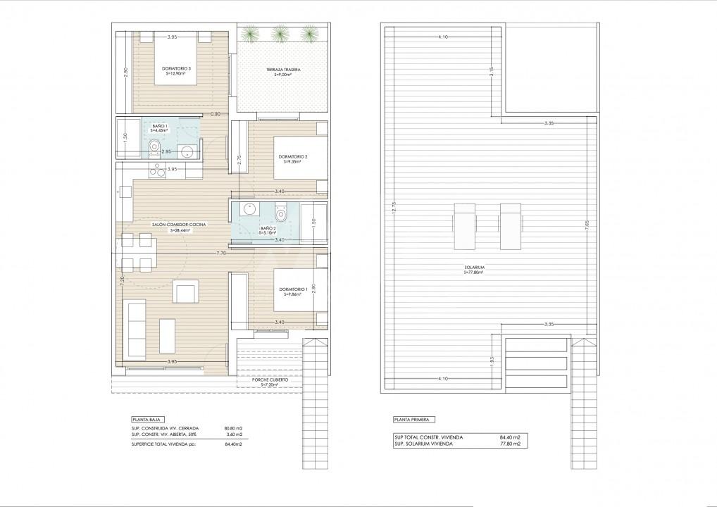 3 bedroom Penthouse in Guardamar del Segura - ER7065 - 9