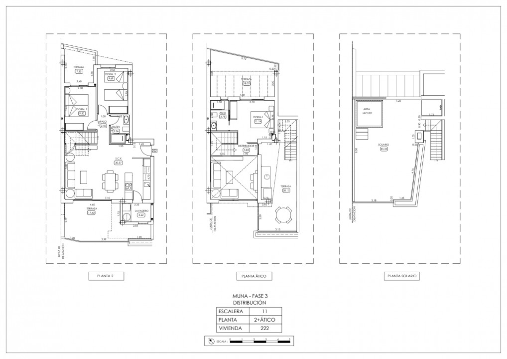 Penthouse w Los Dolses, 3 sypialnie  - TRI114807 - 38
