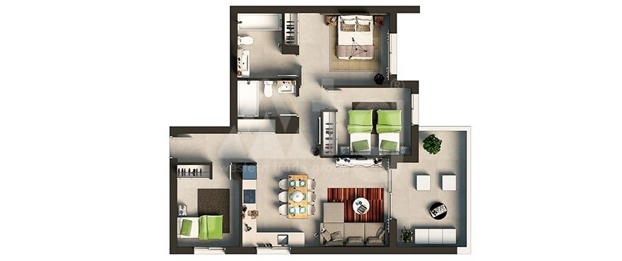3 bedroom Apartment in Punta Prima  - GD6311 - 26