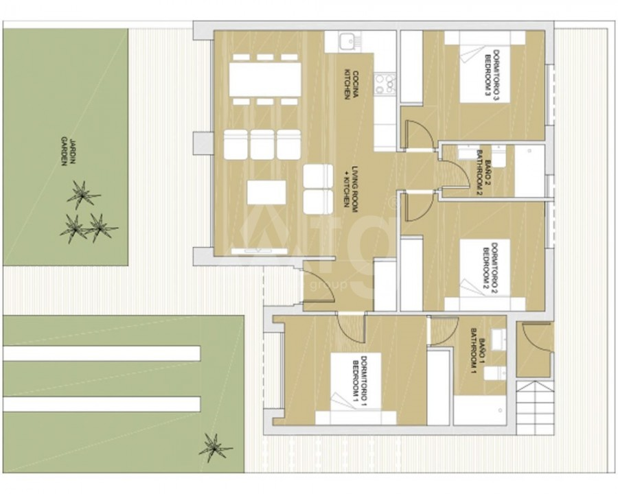 4 bedroom Apartment in Torrevieja  - GDO8132 - 6