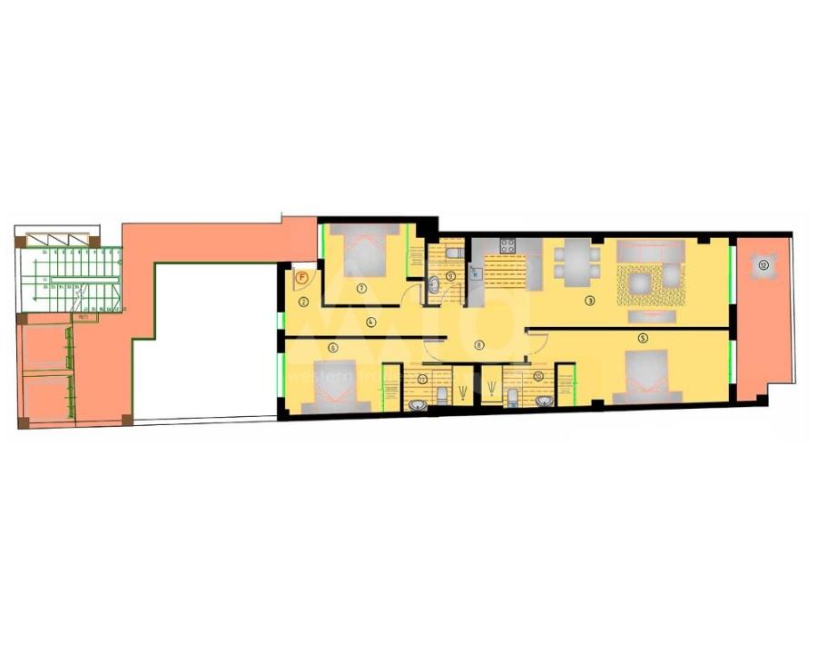3 bedroom Villa in Pilar de la Horadada - VB8101 - 3