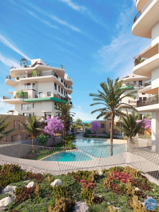 2 bedroom Townhouse in Villajoyosa  - QUA8630 - 11