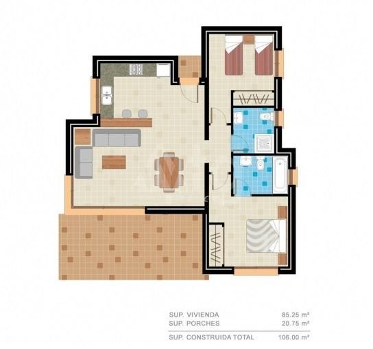 2 bedroom Apartment in Benijófar  - RIK115852 - 2