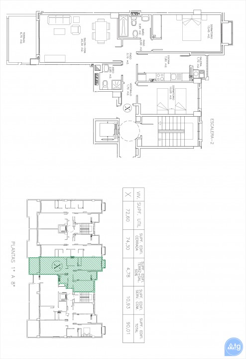 2 bedroom Apartment in La Manga  - GRI115268 - 29