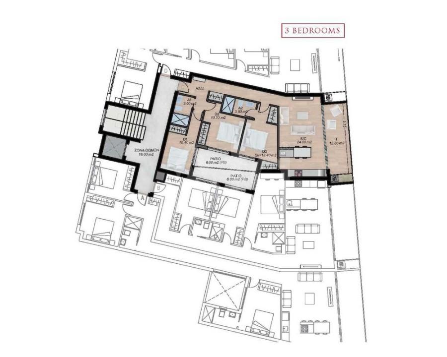 3 bedroom Apartment in San Pedro del Pinatar - OK8081 - 4