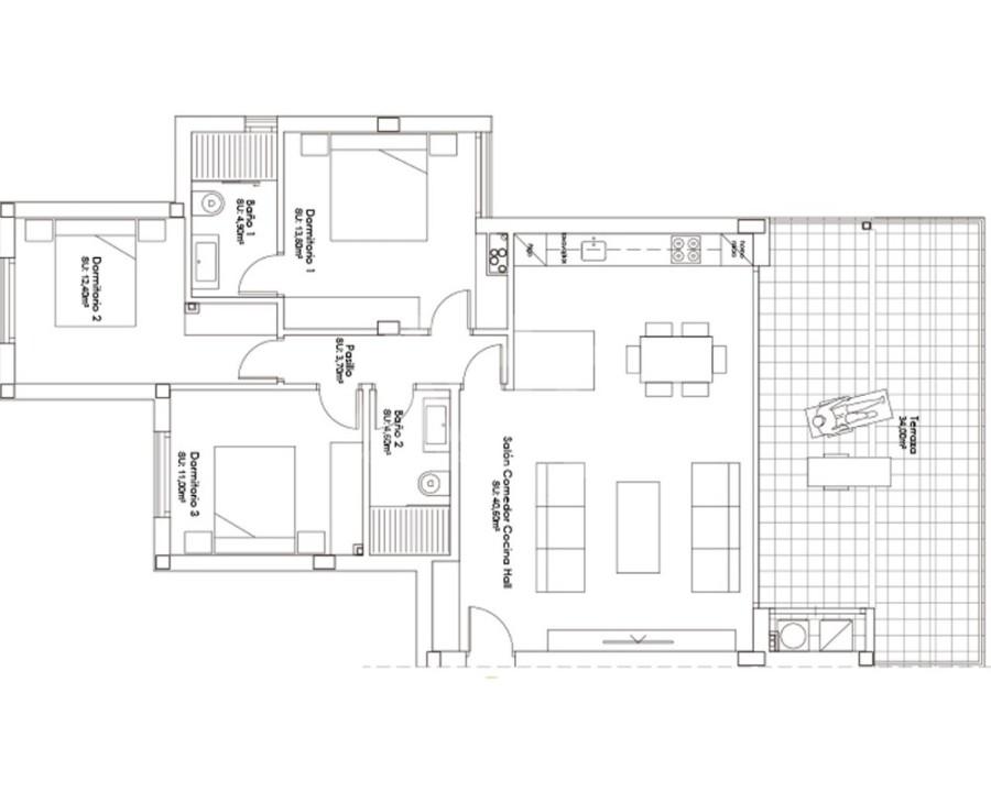 3 bedroom Apartment in Villamartin  - NS8290 - 5