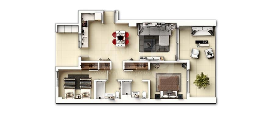 3 bedroom Townhouse in San Miguel de Salinas - AG9080 - 10