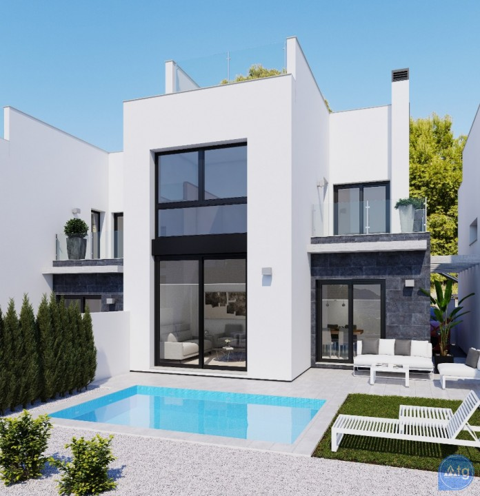 2 bedroom Townhouse in Torrevieja  - AG4237 - 1
