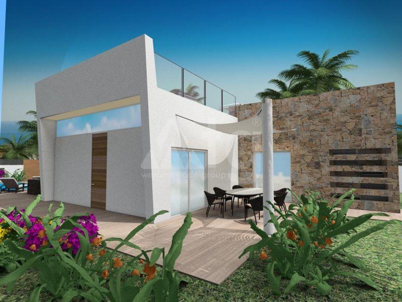 2 bedroom Townhouse in Villajoyosa  - QUA8622 - 1