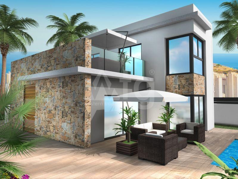 2 bedroom Townhouse in Villajoyosa  - QUA8622 - 18