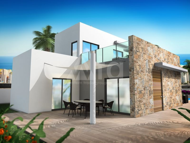 2 bedroom Townhouse in Villajoyosa  - QUA8622 - 26