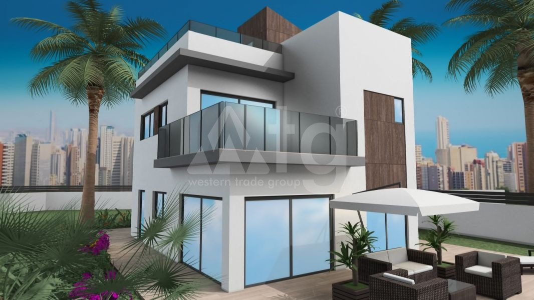 2 bedroom Townhouse in Villajoyosa  - QUA8622 - 34
