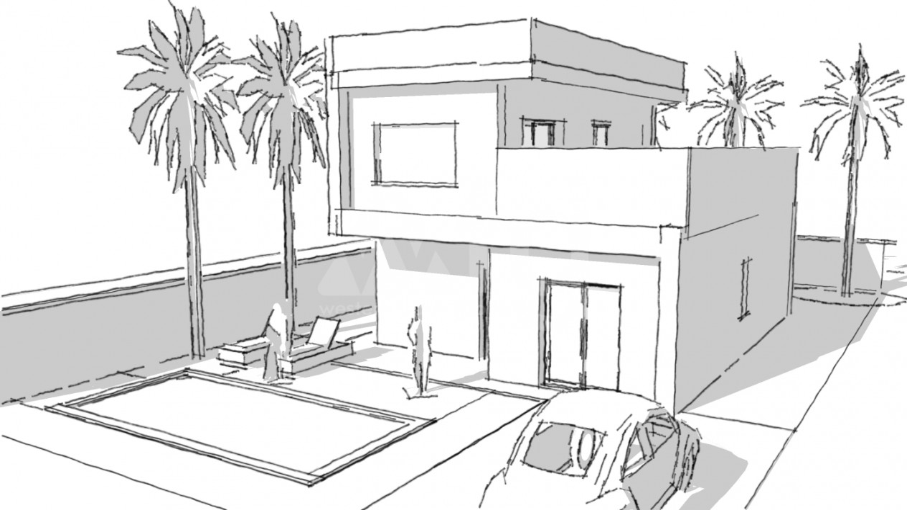 Villa de 3 chambres à Dehesa de Campoamor - AG9445 - 2