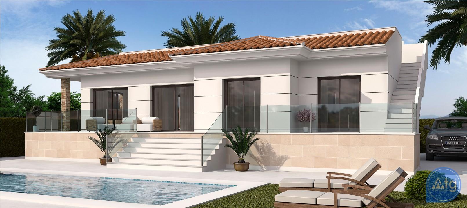 Villa de 3 chambres à Cabo Roig - AG4334 - 1