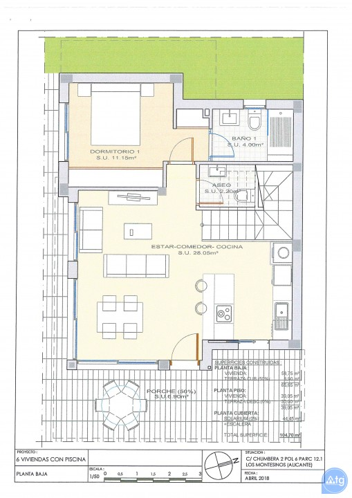Villa de 3 chambres à Los Montesinos - OI7626 - 40
