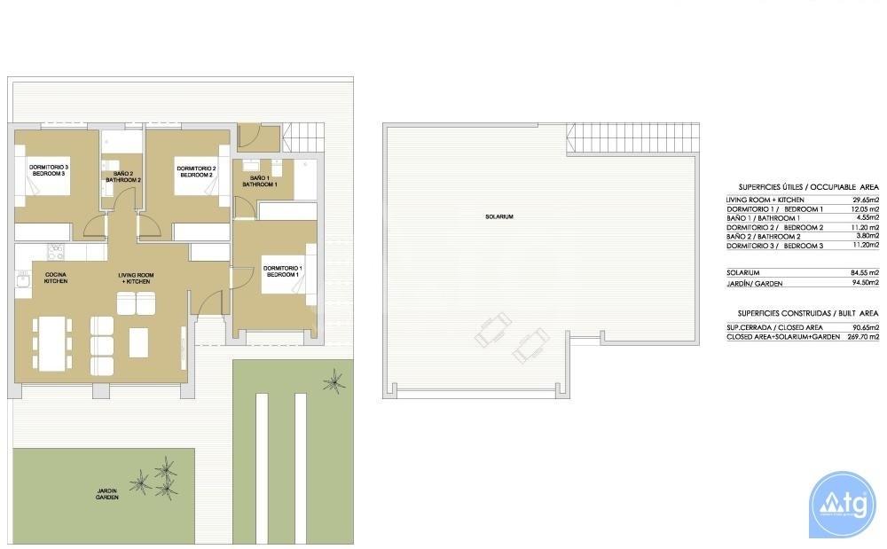 Villa de 3 habitaciones en Lo Romero  - BM8423 - 29