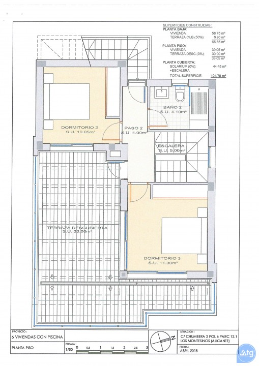 3 bedroom Villa in Los Montesinos - OI7626 - 41