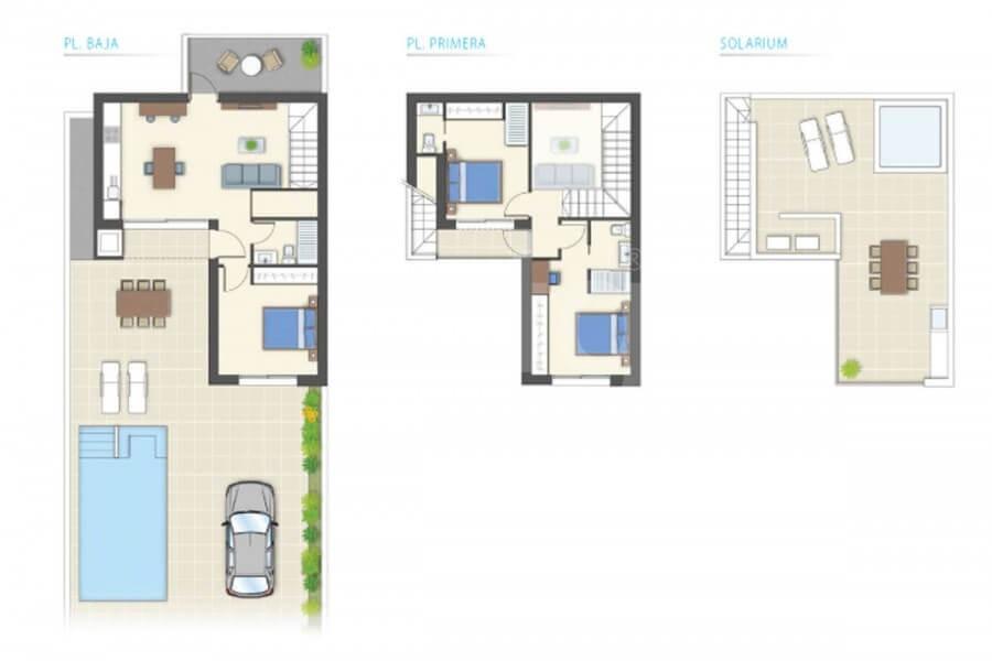 Villa de 3 chambres à Benijófar - GV5804 - 33