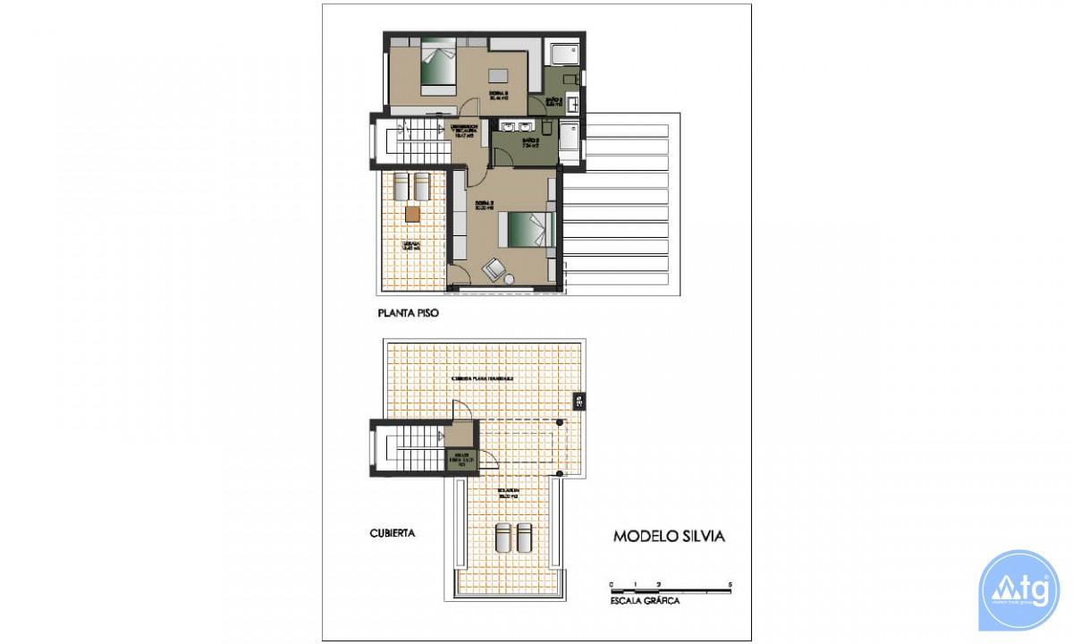 Villa de 4 chambres à Dehesa de Campoamor - AGI8511 - 14